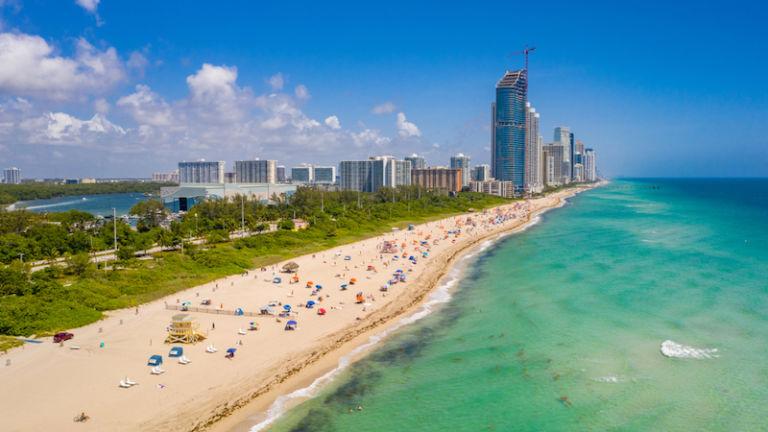 Haulover Park Beach in Miami. Photo credit: Shutterstock.
