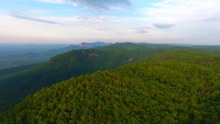 Mountain Bridge Wilderness Area in Greenville, South Carolina. Photo credit Shutterstock.