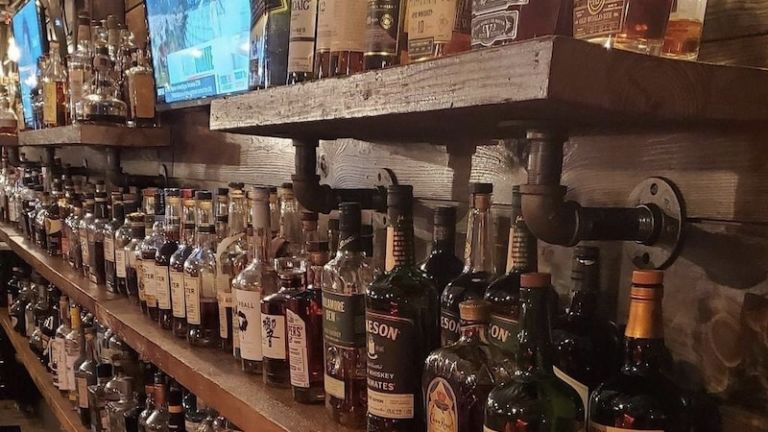 Neat Bourbon Bar in Greenville, South Carolina.