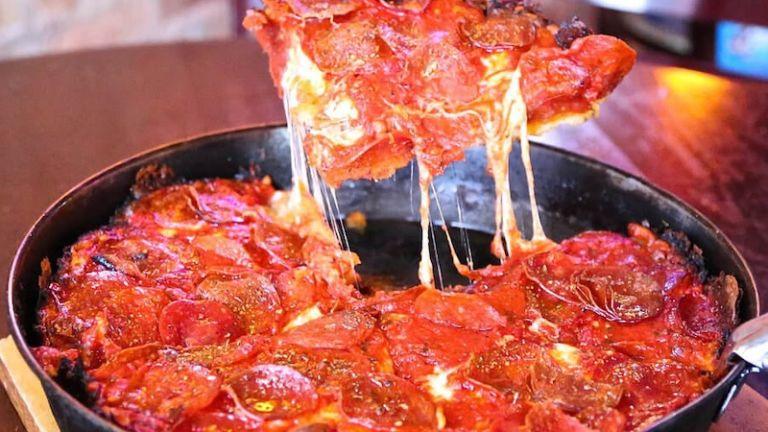 Pequod's Pizza in Chicago