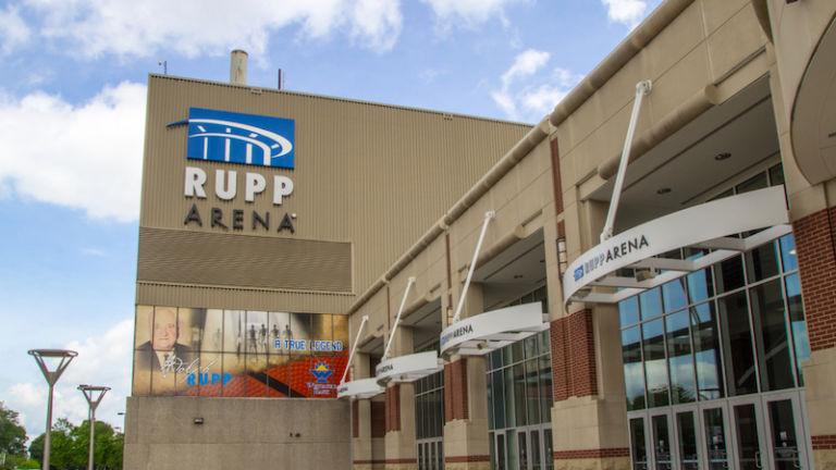 Rupp Arena in Lexington, Kentucky. Photo credit Shutterstock.