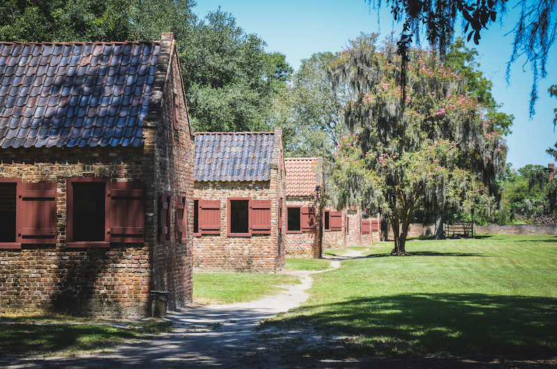 Charleston's Black Community Pushes for Tourism Changes. Pictured: Old slave quarters on a Charleston plantation. Photo credit: Shutterstock