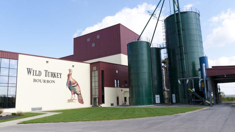 Wild Turkey Distillery in Lexington, Kentucky. Photo cred Shutterstock.