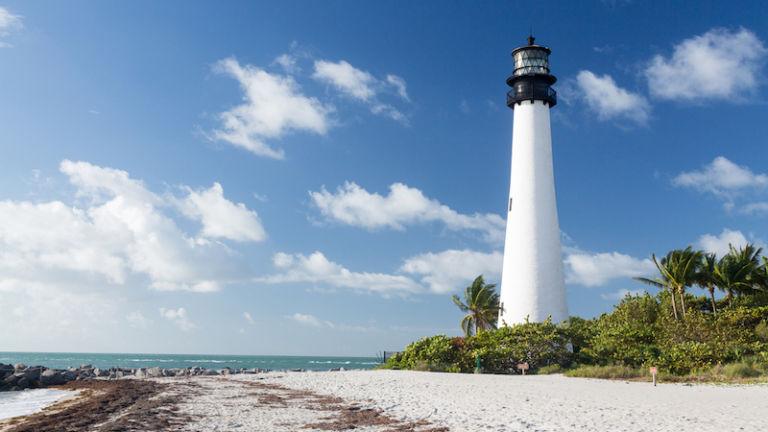 Bill Baggs Cape Florida State Park in Miami. Photo credit: Shutterstock.