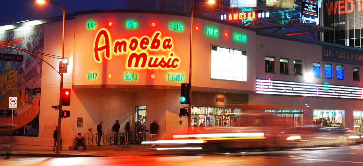 Amoeba Music in L.A. Photo credit by Shutterstock.