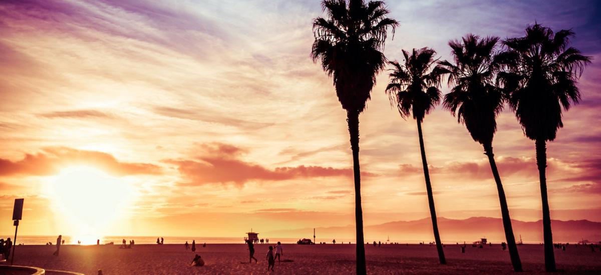 Venice Beach, Calif. Photo via Shutterstock.