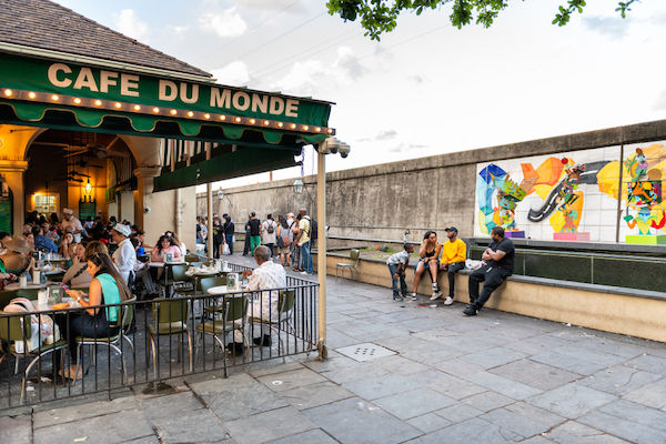Cafe Du Monde in New Orleans. Photo by Shutterstock.