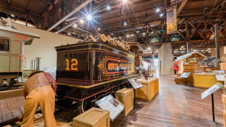 California State Railroad Museum. Photo via Shutterstock.