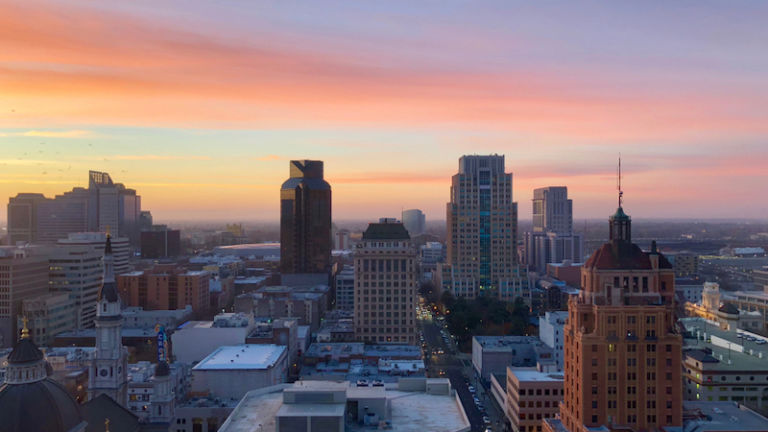 Downtown Sacramento, Calif. Photo by Shutterstock.