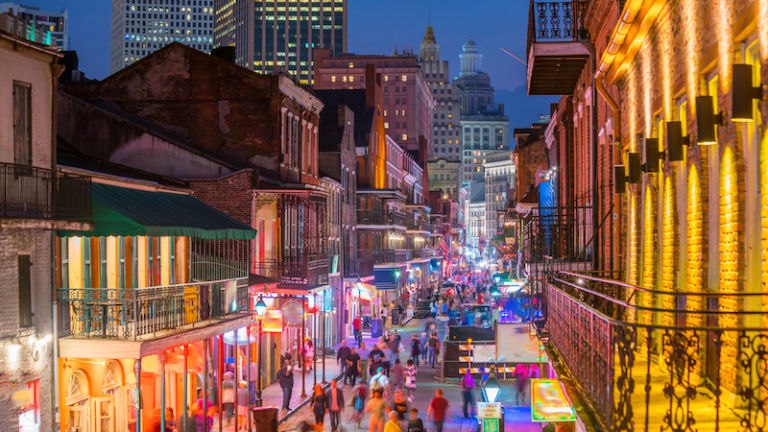 French Quarter in New Orleans. Photo by Shutterstock.