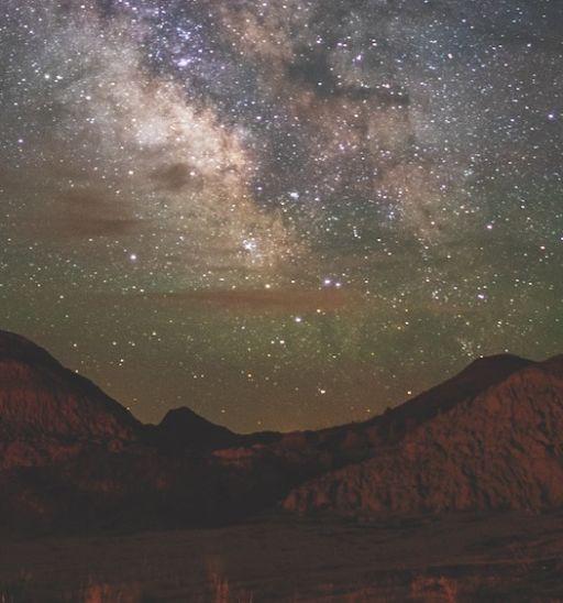 South Dakota sky at night. Photo by Christian Begeman.