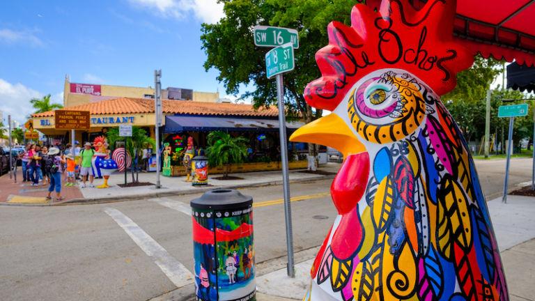 Little Havana in Miami. Photo via Shutterstock.