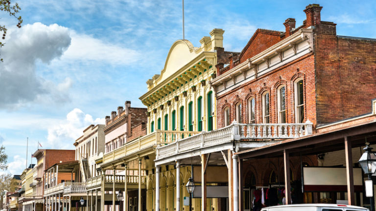 Old Sacramento Historic District. Photo by Shutterstock.