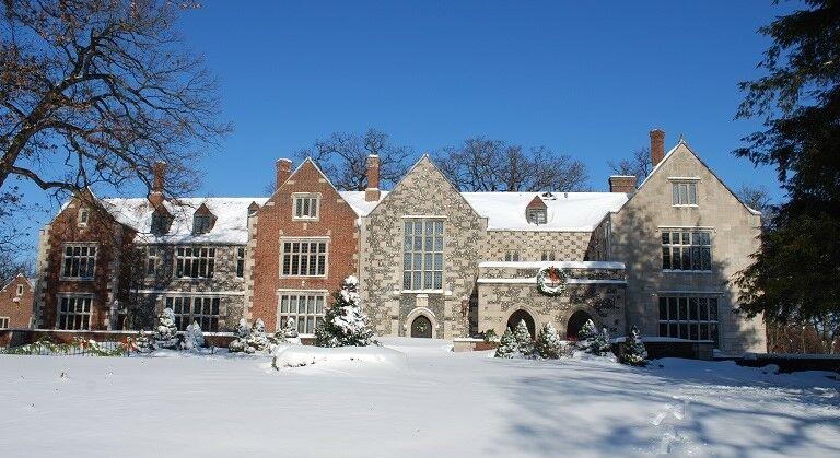 Salisbury House in Des Moines, Iowa.