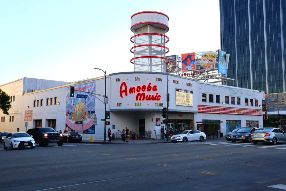 Original location in L.A. on Sunset.