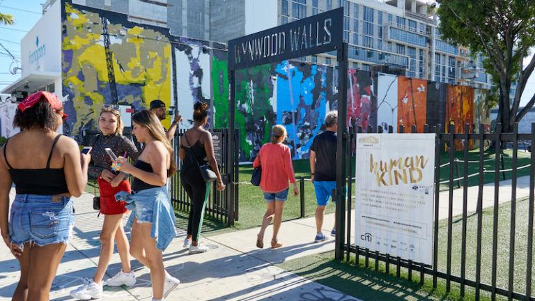 Wynwood Walls in Miami. Photo via Shutterstock.