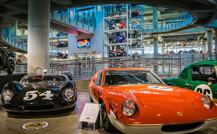 Barber Vintage Motorsports Museum in Leeds, Alabama. Photo via Shutterstock.