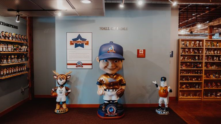 National Bobblehead Hall of Fame and Museum in Milwaukee.