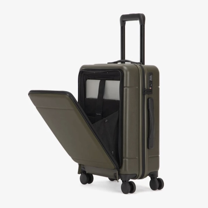 Calpak's Hue Carry-On Luggage with Pocket