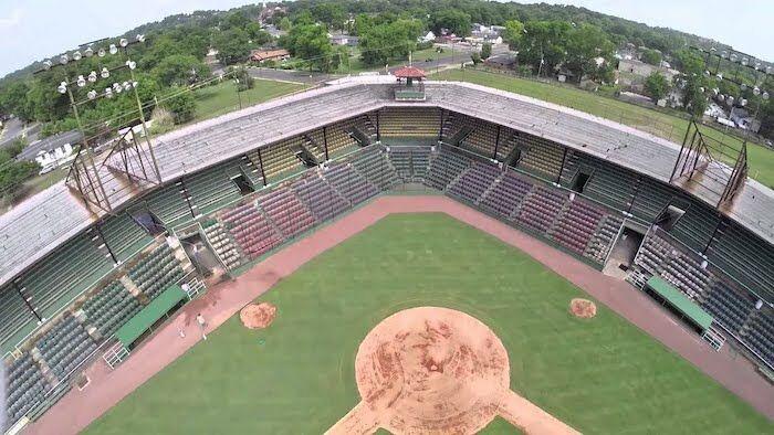 Rickwood Field in Birmingham, Alabama.