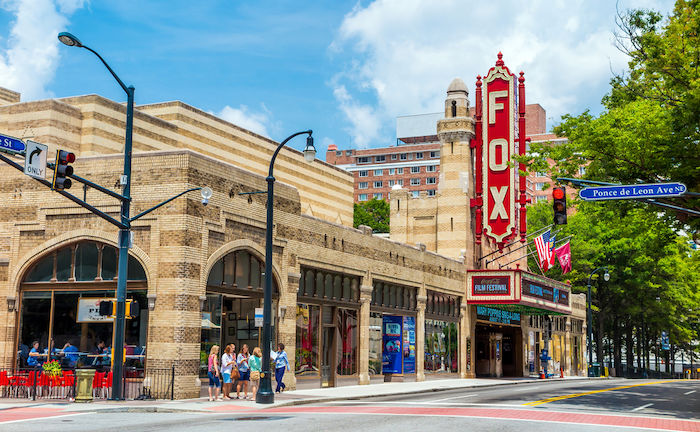 Fox Theatre in Atlanta. Photo via Shutterstock.
