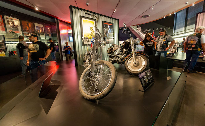 Harley-Davidson Museum in Milkwaukee. Photo via Shutterstock.