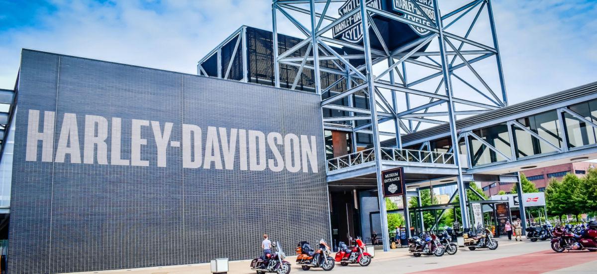 Harley Davidson in Milwaukee. Photo via Shutterstock.