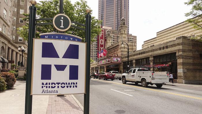 Midtown Atlanta. Photo by Shutterstock.