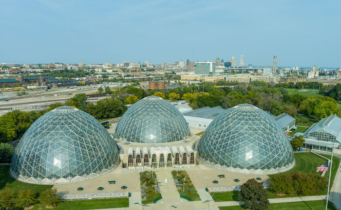 Mitchell Park Horticultural Conservatory in Milwaukee. Photo via Shutterstock.