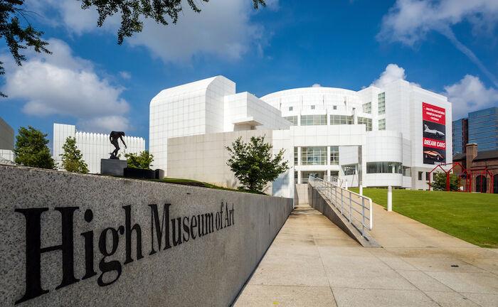 High Museum of Art in Atlanta.