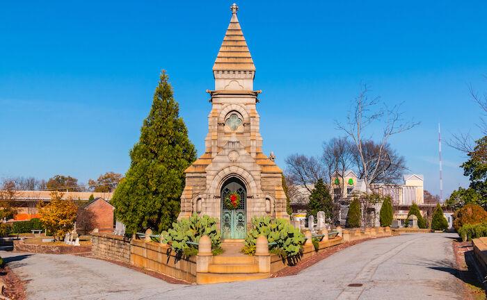 Oakland Cemetery in Atlanta. Photo via Shutterstock.