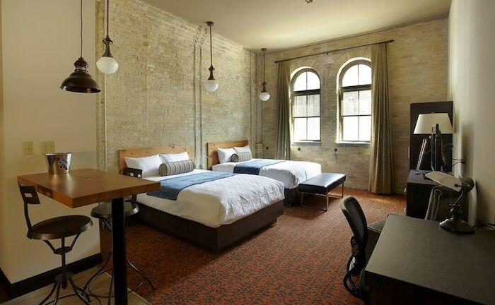 Brewhouse Inn & Suites in Milwaukee.