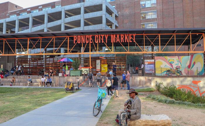 Ponce City Market in Atlanta. Photo via Shutterstock.