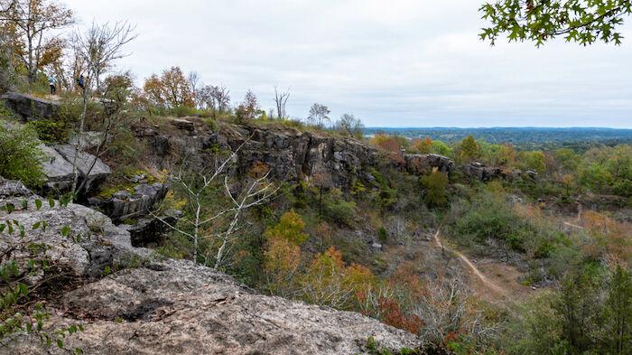 Ruffner Mountain Nature Preserve in Birmingham, Alabama. Photo via Shutterstock.