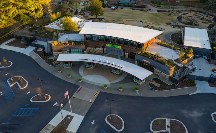 The Birmingham Zoo in Birmingham, Alabama. Photo via Shutterstock.