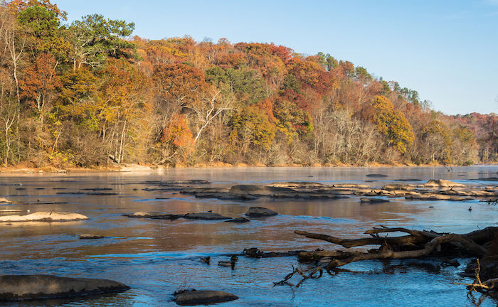 Chattahoochee River in Atlanta. Photo by Shutterstock.