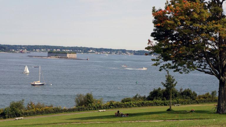 Eastern Promenade in Portland, Maine. Photo by Shutterstock.