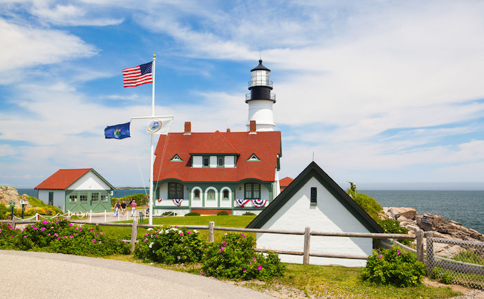 Fort Williams Park in Portland, Maine. Photo by Shutterstock.