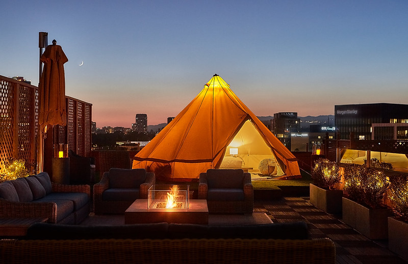 How Hotels Are Morphing Outdoor Spaces into New Guest Experiences. Photo credit: Beverly Wilshire, A FourSeasons Hotel.