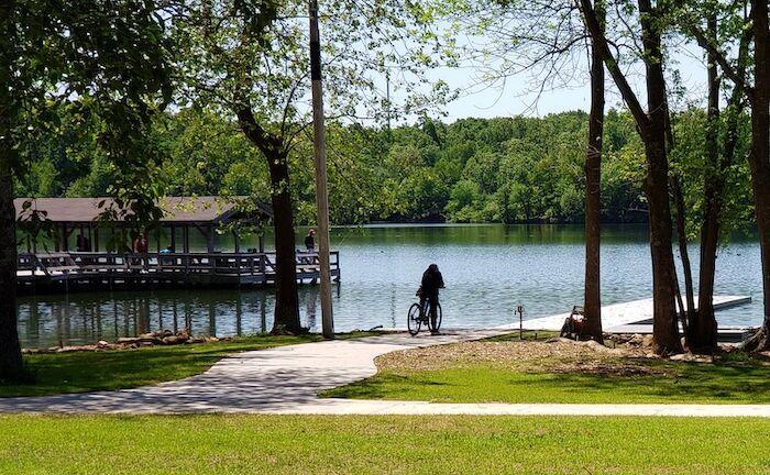 Lake Fayetteville in Fayetteville, Arkansas.