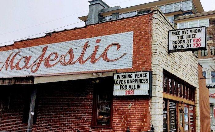 George's Majestic Lounge in Fayetteville, Arkansas