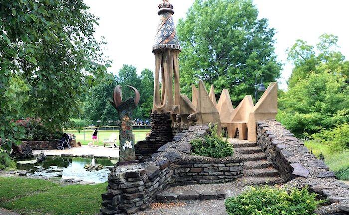 Wilson Park in Fayetteville, Arkansas