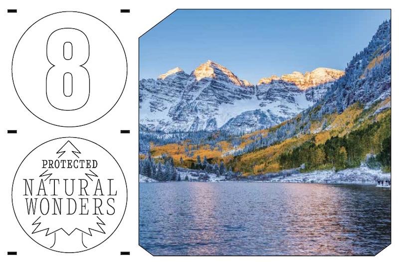 National Park to Park Highway  - 5,600 miles - Denver, Colo. to Denver, Colo.