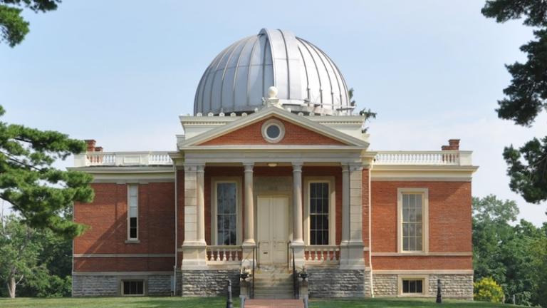 Cincinnati Observatory in Cincinnati, Ohio. Pic via Shutterstock.