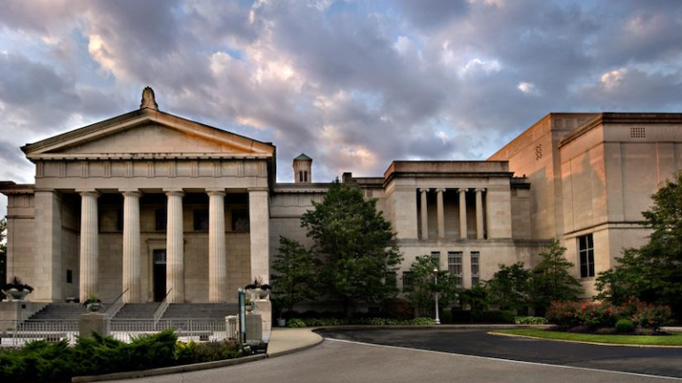 Cincinnati Art Museum in Cincinnati, Ohio. Pic via Shutterstock.