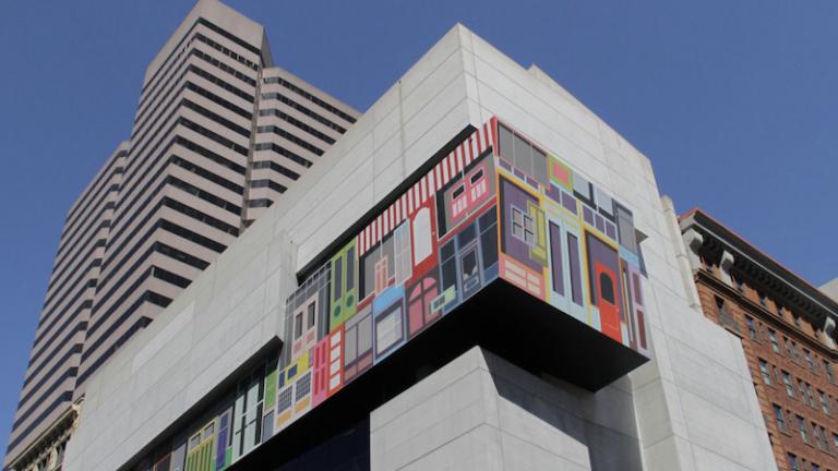 Contemporary Arts Center in Cincinnati, Ohio. Pic via Shutterstock.
