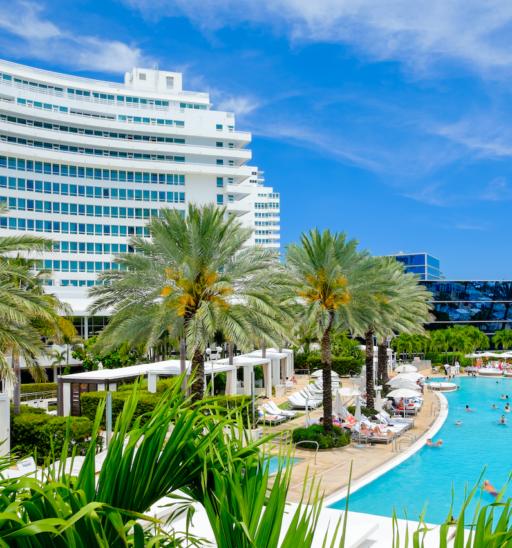 Fountainebleau Hotel in Miami.