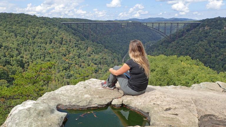 Long Point Trail in Fayetteville, West Virginia
