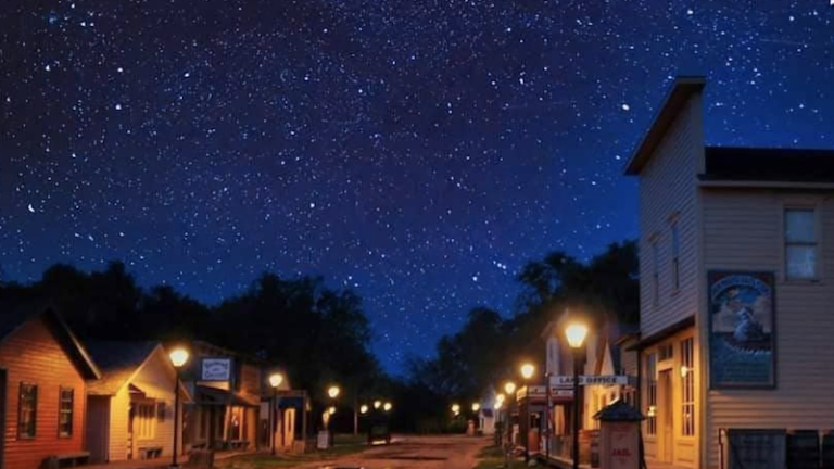 Old Cowtown Museum in Wichita, Kansas. Photo via Shutterstock.