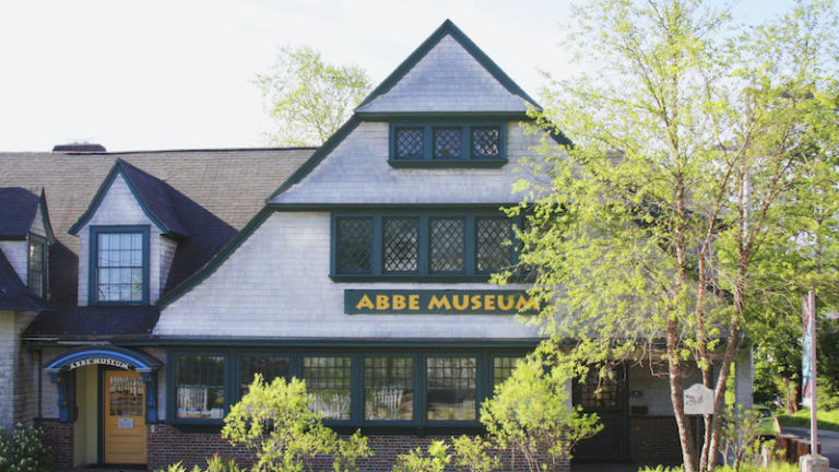 Abbe Museum in Bar Harbor, Maine.